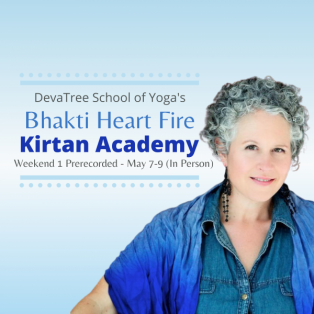 BLENDED (Online & In Person) 50-hr Kirtan Academy: Bhakti Heart Fire