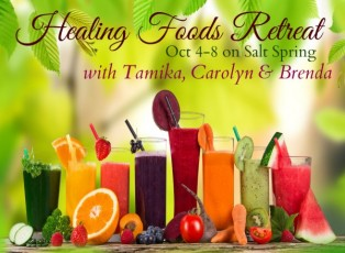 Healing Foods Fall Meditation Retreat