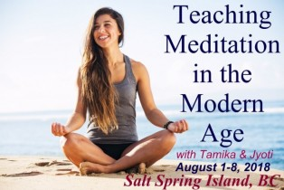 Teaching Meditation in the Modern World
