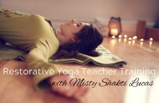 50-hour Restorative Yoga Teacher Training