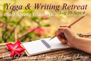 Yoga & Writing Retreat on Salt Spring Island