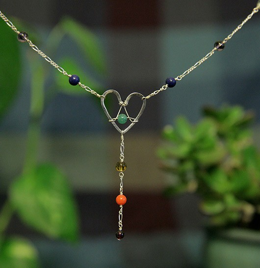 HeartRise Chakra Necklace